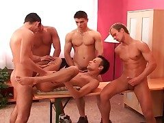 Gay gangbang and straight 69 near hot porn