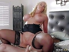 Alura Jenson is a horny as hell mother with giant