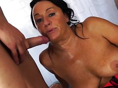 Scambisti Maturi - Italian 4 way with mature anal Laura
