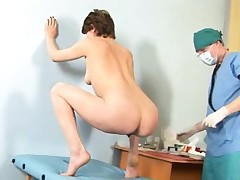 Hot nubile and naughty gynecologist